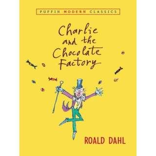 🚚 Brand New PaperBack - Charlie and the Chocolate Factory by Roald Dahl  !!