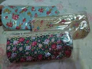 🚚 1 for 1sgd only New Flora pencil case