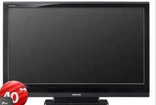 """LCD TV Toshiba 40"""" 40CV700E"""