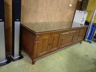 大樹二手柚木實木電視櫃