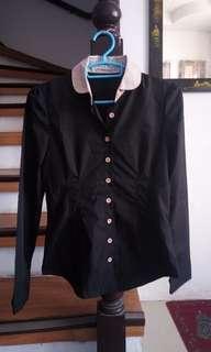 Preloved black polo