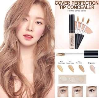 [FAST PO] (OFFICIAL) The Saem Cover Perfection Tip Concealer SPF28 PA++