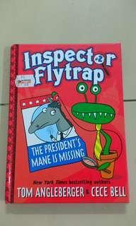 Xmas gift : Inspector Flytrap Hardcase Book