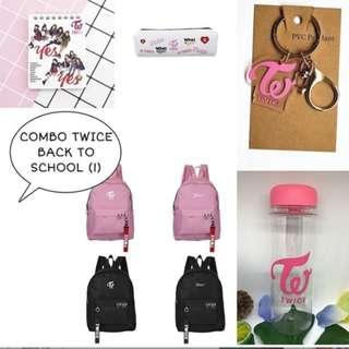 SPECIAL PREORDER - COMBO TWICE BACK TO SCHOOL EXC.POS