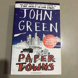 (English) Paper towns by john green