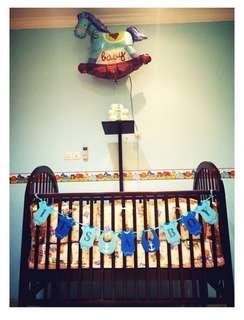 Jati Baby Cribs , ranjang Bayi kayu jato