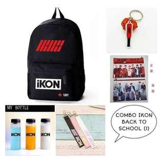 SPECIAL PREORDER - COMBO IKON BACK TO SCHOOL EXC.POS