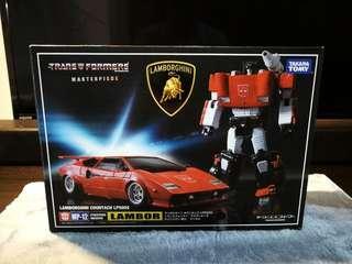 Transformers masterpiece lambor / sideswipe