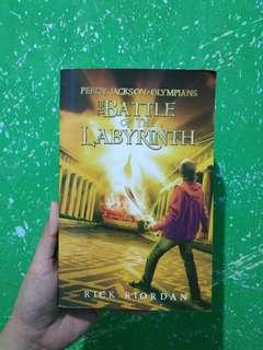 Percy Jackson&The Olympians: The Battle of The Labyrinth