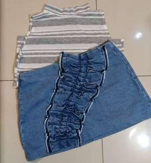 Zara Skirt & Top