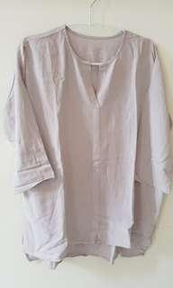 Reprice! Grey Basic Shirt