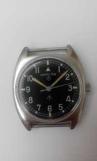 Hamilton Military Watch W10 In 1973