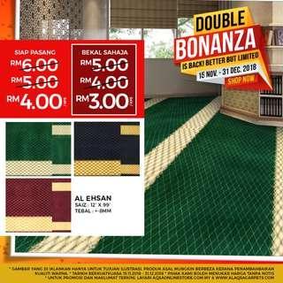 Lowest Price Mosque Carpet With Promo Double Bonanza!!