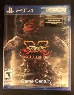 全新 PS4 Street Fighter V Arcade Edition US 美版