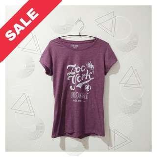 """Zoo York """"Unbreakable"""" Shirt (Purple)"""