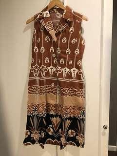 Baju ibu menyusui model vintage