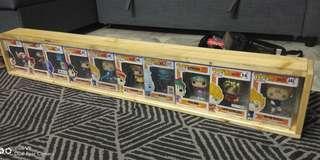 Pop display rack shelf