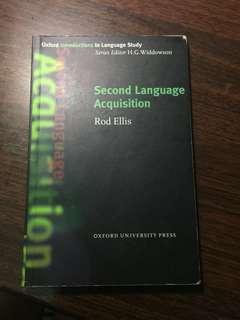 🚚 Second Language Acquisition 第二語言習得