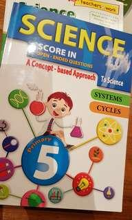 P5 Science assessment book