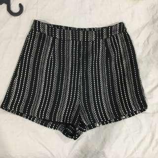 Zalora Premium Short Tweed Pants