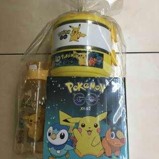 Pokemon Go Lunch Box & Water Bottle