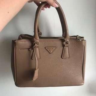 TAS PRADA BAG MURAH BROWN