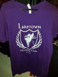 🚚 Tolkien Laketown purple shirt