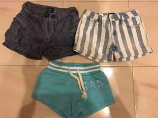 🚚 Bundle of GAP Girls shorts ( Size 5 for 5 years old)