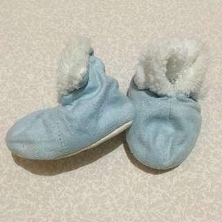 Piccolo Bambino Infant Blue Shoes