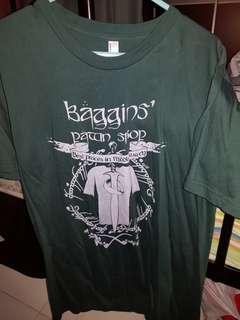 🚚 Tolkein Baggins Pawn Shop grey & olive shirt