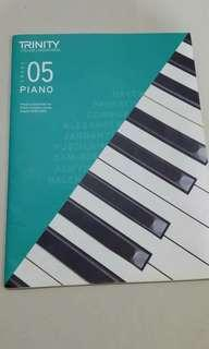 Trinity board grade 5 piano pcs & exercise