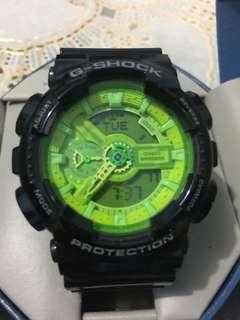 CASIO G-SHOCK X-LARGE G GREEN DIAL 200M DIGITAL WATCH