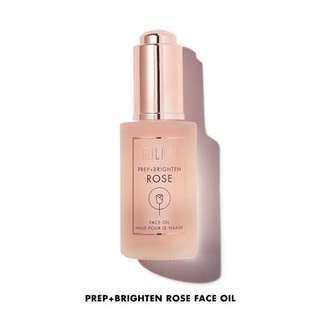 Milani prep+brighten rose face oil
