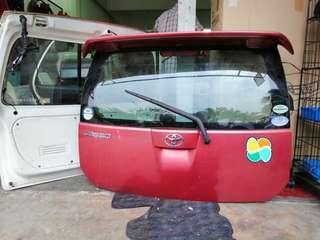 Toyota passo asv trd tailgate