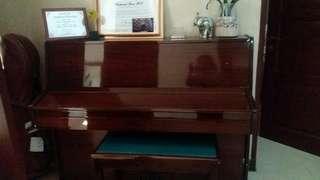 Piano Akustik Richard Meyer made in Germany beli dari Baru msh bagus