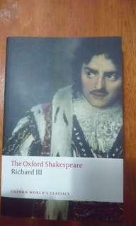 The Oxford Shakespeare Richard III
