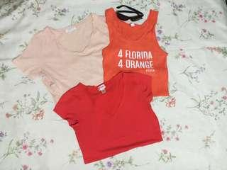 TAKE ALL Mossimo, Forever21 & Bella Tops/ Size M
