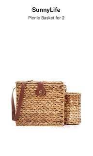 Sunnylife picnic basket