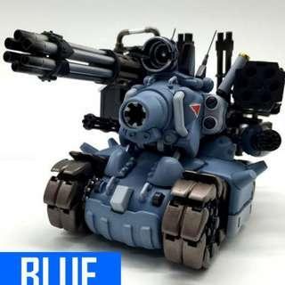 Metal Slug SV-001 M.S.EVOLVE Tank (Blue) + Weapon 01 Pack