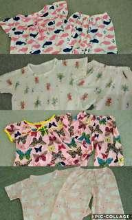 4 Pajama Sets for Girls