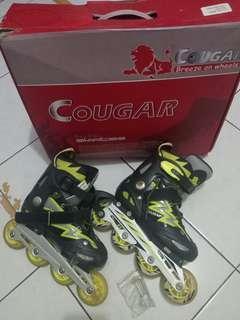 Skaters, sepatu roda COUGAR asli