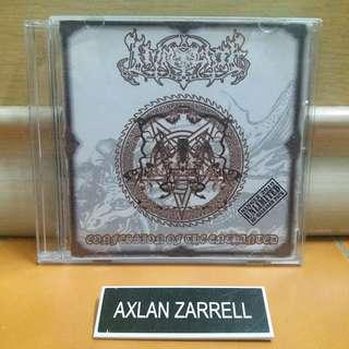 IMMOLATE Confession Of The Enchanted (CD Lagu)