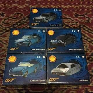 Shell cars collection