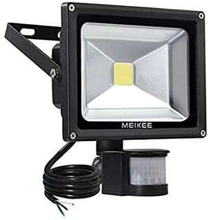 LED flood light sensor 20W