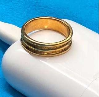Gold Ring - A Simple Ring (916) 🇸🇬🇸🇬🇸🇬🇸🇬🇸🇬