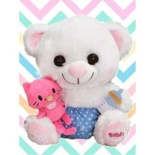 [PRE ORDER] Toreba x Sweetheart Bear Standard Plushy Ver 03