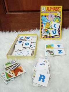 Puzzle Alphabet 2 pieces