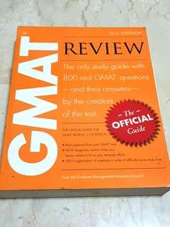 GMAT Review Official Guide