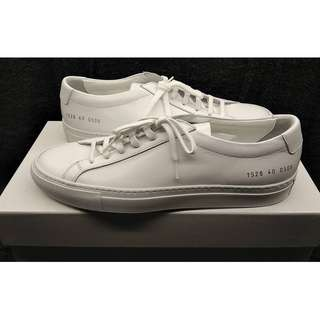 f015b3232c4d5 Common Projects Achilles Low White Size 40 EU