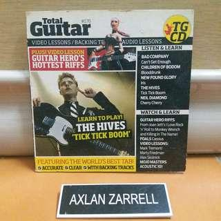 Total Guitar Video Lessons Backing Track Audio Lessons (Interactive CD)